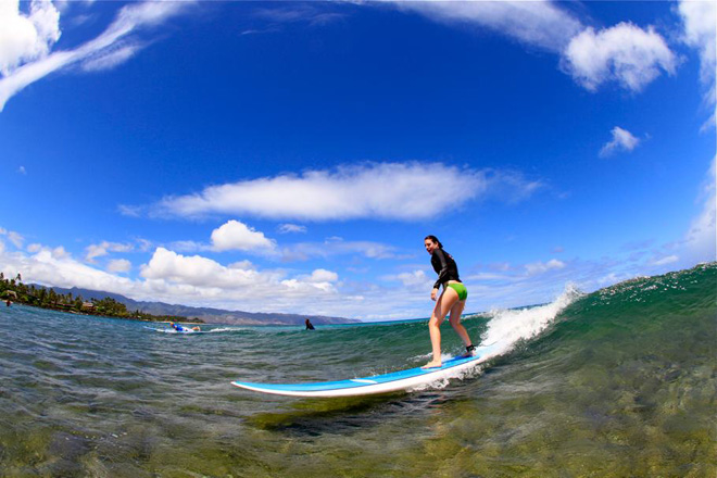 Surf Lessons Oahu North Shore
