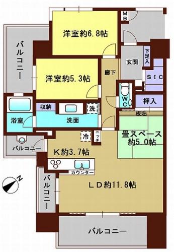 サーパス赤坂MV501(カラーWEB用
