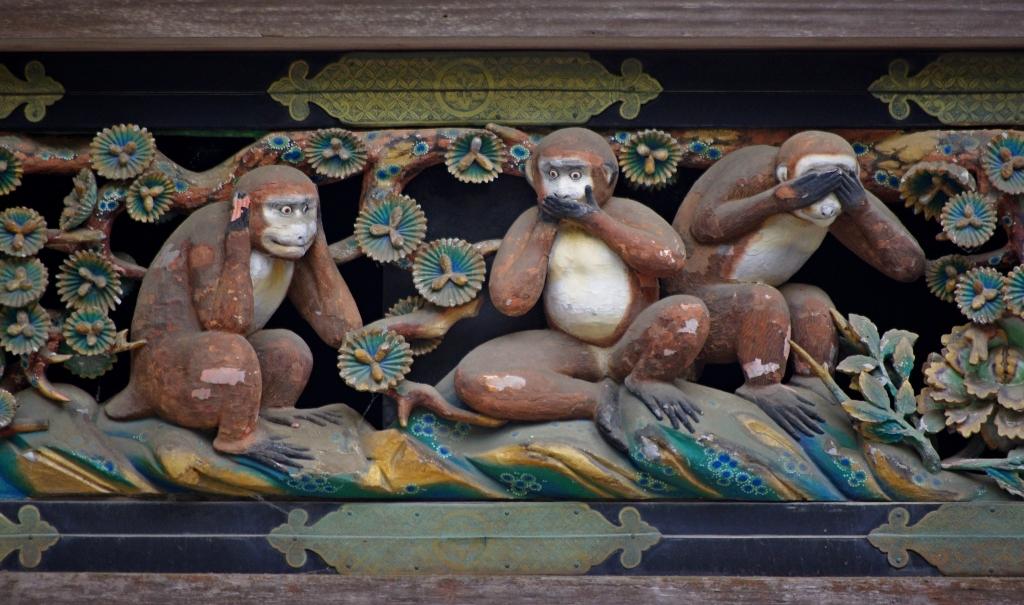 20100727_Nikko_Tosho-gu_Three_wise_monkeys_5965