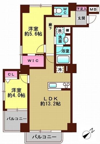 ご依頼間取図(カラーWEB用